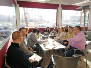 Reunión de socios Adene enero 2018