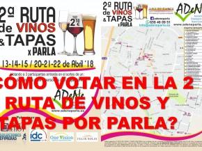 votar-en-la-2-ruta-de-vinos-y-tapas-por-parla-adene